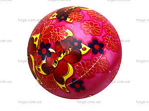 Детский мяч с рисунком, резиновый, BT-PB-0016, фото