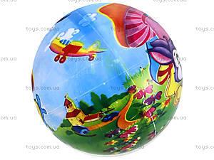 Детский мяч с рисунком, резиновый, BT-PB-0016, цена
