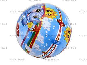 Детский мяч с рисунком, резиновый, BT-PB-0016, игрушки