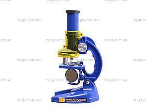 Детский микроскоп, с аксессуарами, C2107, магазин игрушек