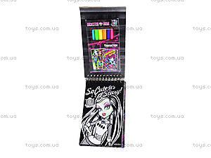 Детский набор бархатных открыток Monster Hight, MH14-219K, купить