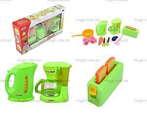 Детский набор бытовой техники с посудой, JY1016