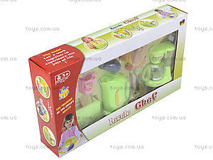 Детский набор бытовой техники с посудой, JY1016, отзывы