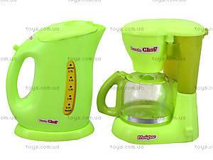 Детский набор бытовой техники с посудой, JY1016, цена