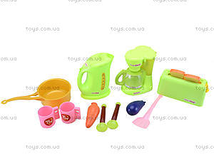 Детский набор бытовой техники с посудой, JY1016, игрушки