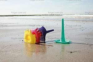 Детский набор для песка TRIPLET, цвет желтый, 170037, детские игрушки