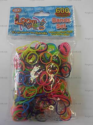 Детский набор для плетения цветными резинками, SV11821, купить