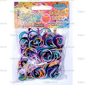 Детский набор для плетения цветными резинками, SV11821