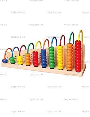 Детский набор для раннего развития «Учимся считать», 50022