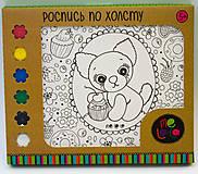 Детский набор для росписи по холсту «Собачка Fany», 57516, фото