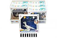 Детский набор для творчества «Раскрась динозавра», Q9899-155A, купить