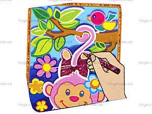 Детский Набор для творчества «Раскраски глиттером», Волшебное сияние, VT4801-01, фото
