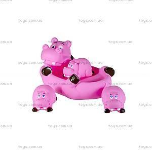 Детский набор для ванной «Бегемотики», 137SM, купить