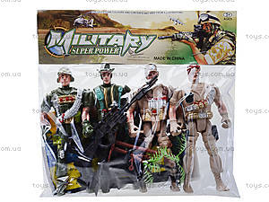 Детский набор для игры «Армия», 904-1, фото