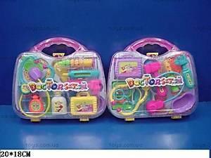 Детский набор доктора, в чемоданчике, 3A-055AB