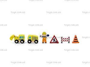 Детский набор фигурок «Строители» для ж/д, 50813