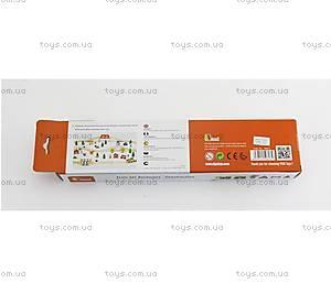 Детский набор фигурок «Строители» для ж/д, 50813, купить