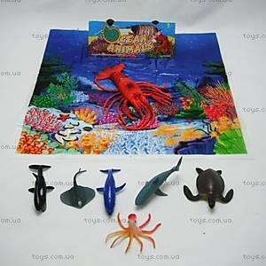Детский набор «Морские животные», HB2 4