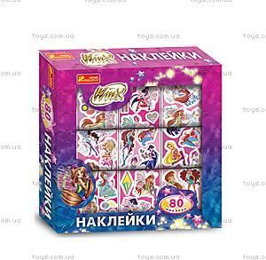 Детский набор «Наклейки в коробке Винкс», 131590 Р