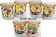 Детский набор «Овощи и фрукты»,с ножом и досточкой, 98101112, купить