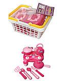 Детский набор посуды с плитой, KF899-21, отзывы