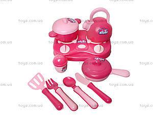 Детский набор посуды с плитой, KF899-21, цена