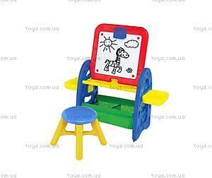 Детский набор с доской для рисования и стулом, CP0020501015