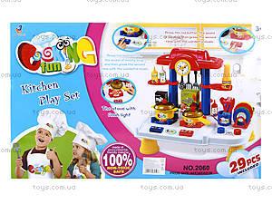 Детский набор с звуковым эффектом «Кухня», 2060, купить