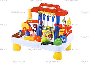 Детский набор с звуковым эффектом «Кухня», 2060, фото