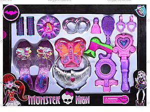 Детский набор «Туфли с аксессуарами» Monster High, 88054, отзывы