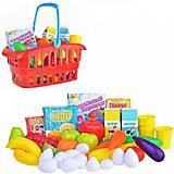 Детский набор в корзинке «Супермаркет», 362 в.2, интернет магазин22 игрушки Украина