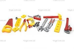 Детский набор инструментов «Маленький строитель», 0717-A