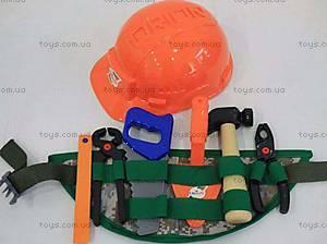 Детский набор инструментов «Пояс строителя», 317