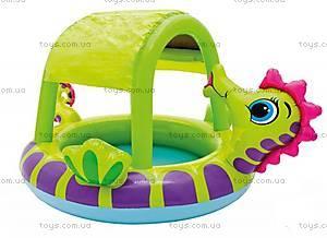 Детский надувной бассейн «Морской конек», 110
