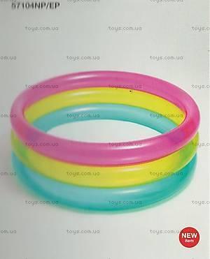 Детский надувной бассейн «Радуга», 104, купить