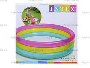 Детский надувной бассейн «Радуга», 104