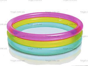 Детский надувной бассейн «Радуга», 104, цена