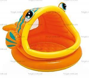 Детский надувной бассейн «Рыбка», 109