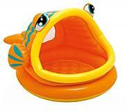 Детский надувной бассейн «Рыбка», 109, купить игрушку