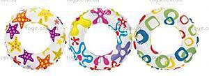 Детский надувной круг «Пестрый», 59241