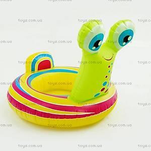 Детский надувной круг в форме улитки, 466-1020