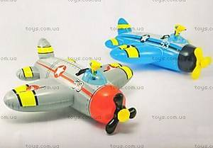 Детский надувной плотик-самолет, 537