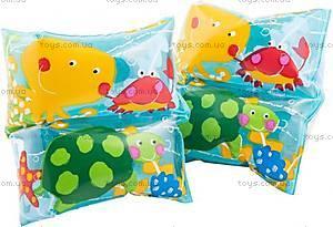 Детский нарукавники «Рыбки», 59650
