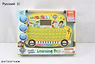 Детский обучающий планшет «Автобус», 0810-1, фото
