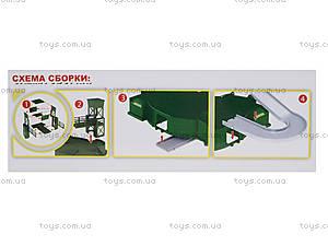 Детский паркинг «Армейская парковка», ZYB-B2203, отзывы