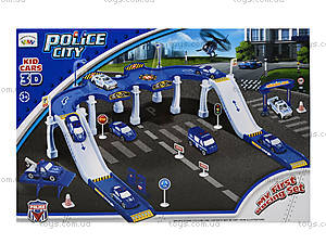 Детский паркинг «Городская полиция», P3288, купить