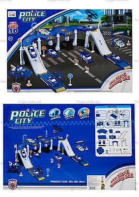 Детский паркинг «Городская полиция», P3288
