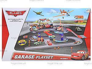Детский паркинг «Летачки» машины и самолеты, 6889-2, фото
