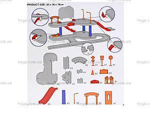 Детский паркинг «Летачки» машины и самолеты, 6889-2, детские игрушки