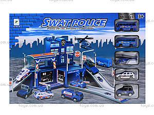 Детский паркинг «Полиция» с машинками, 660-68, отзывы